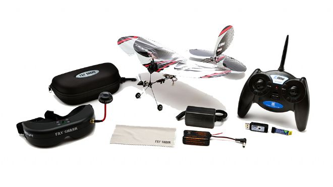 E-flite Vapor RTF with Fat Shark Teleporter Goggles | Western Valley Models